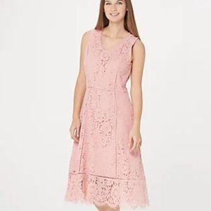Isaac Mizrahi Lace Dress and Cardigan Set